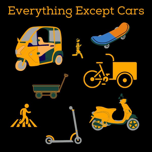 Everything Except Cars