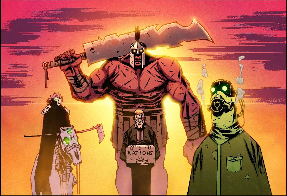IronVerse Comics Bulletin