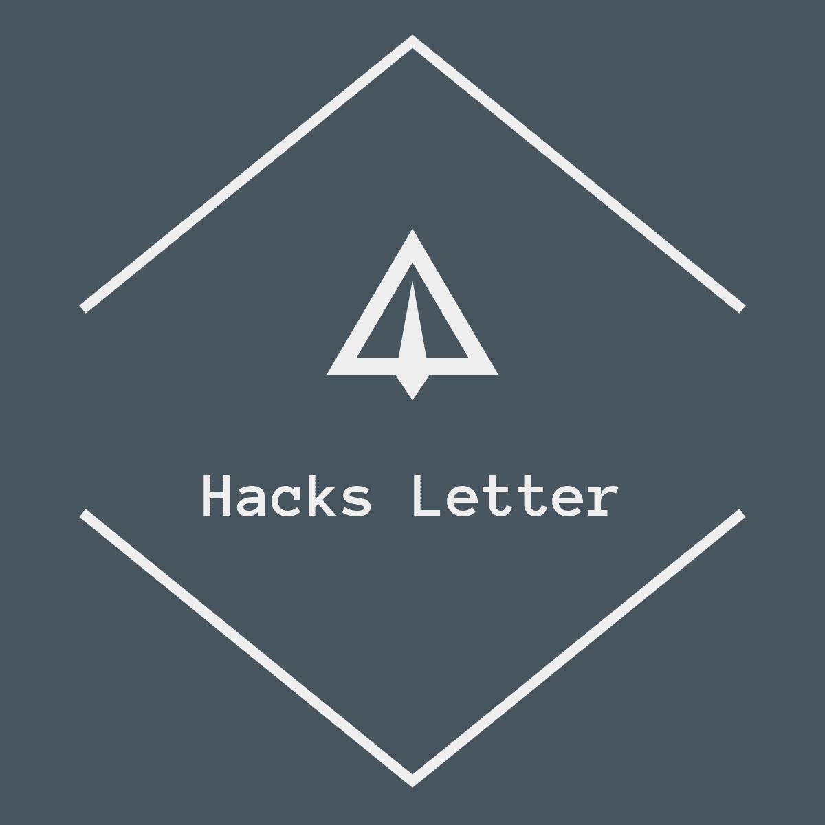 Beck's Hacks Letter