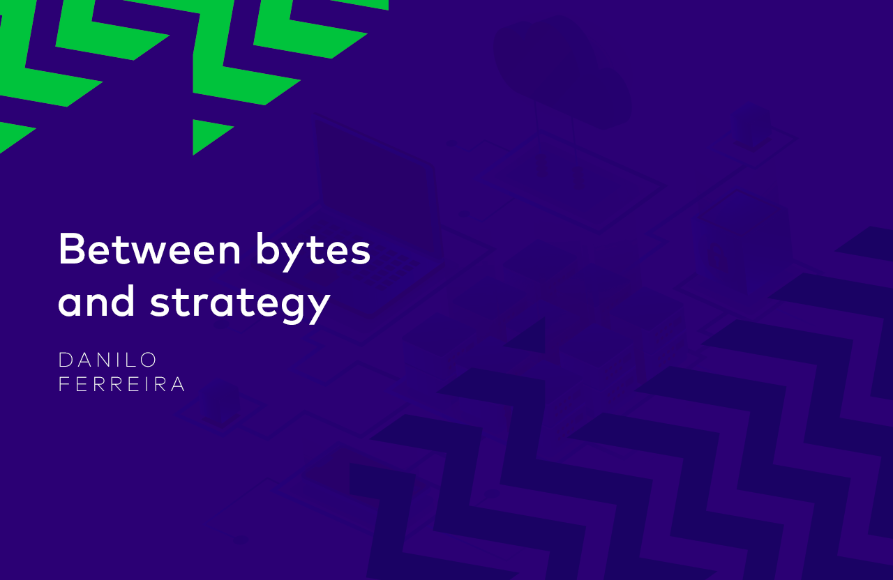 Between bytes and strategy