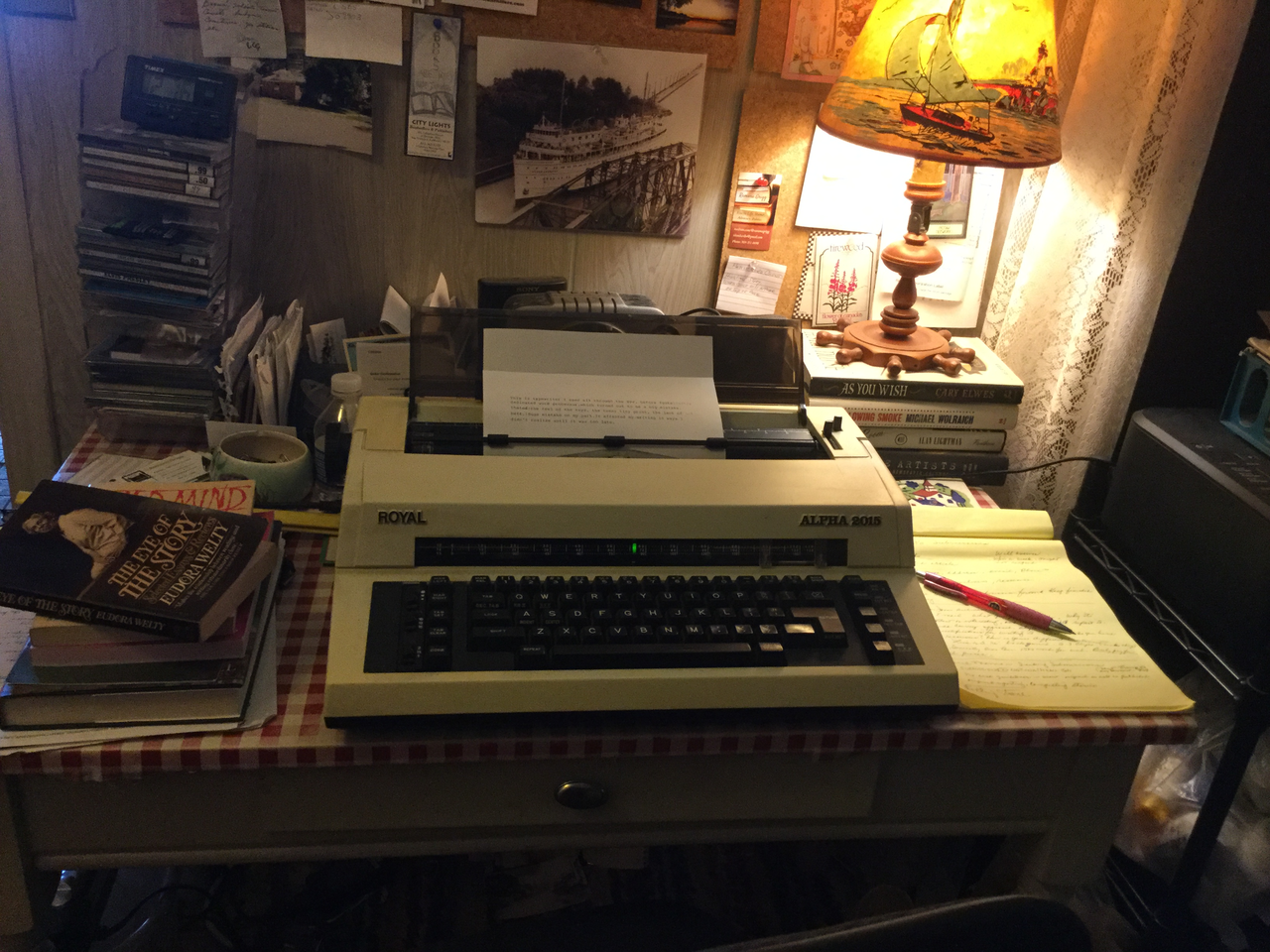 Writer Everlasting