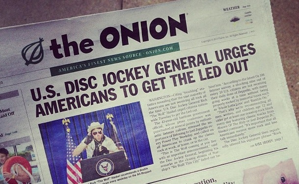 The Onion: 20 Years Later