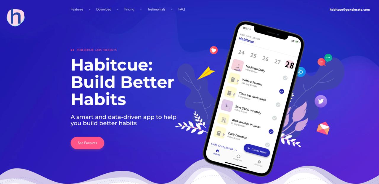 Habitcue | Build Better Habits 🧘