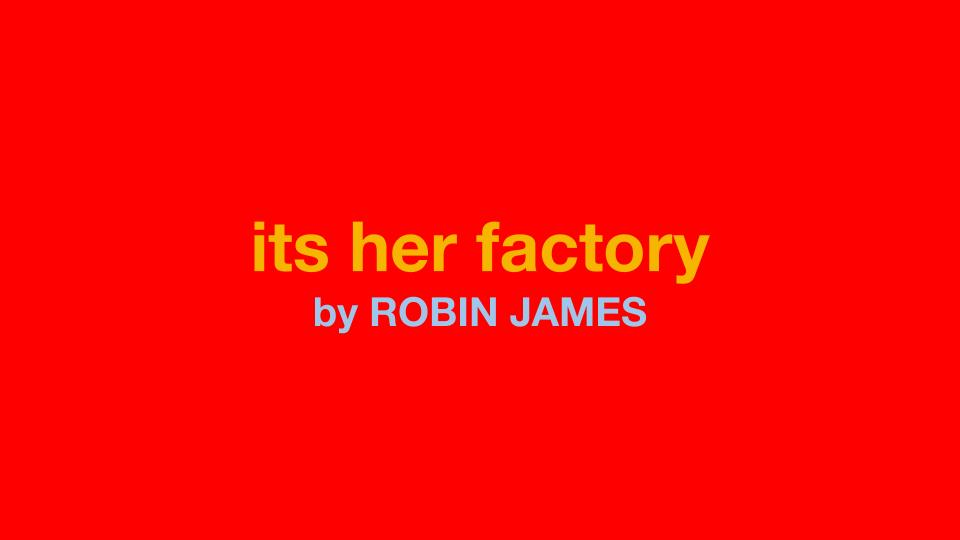 its her factory newsletter