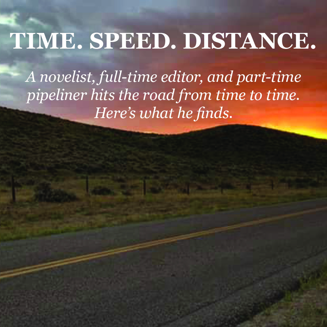Time. Speed. Distance.