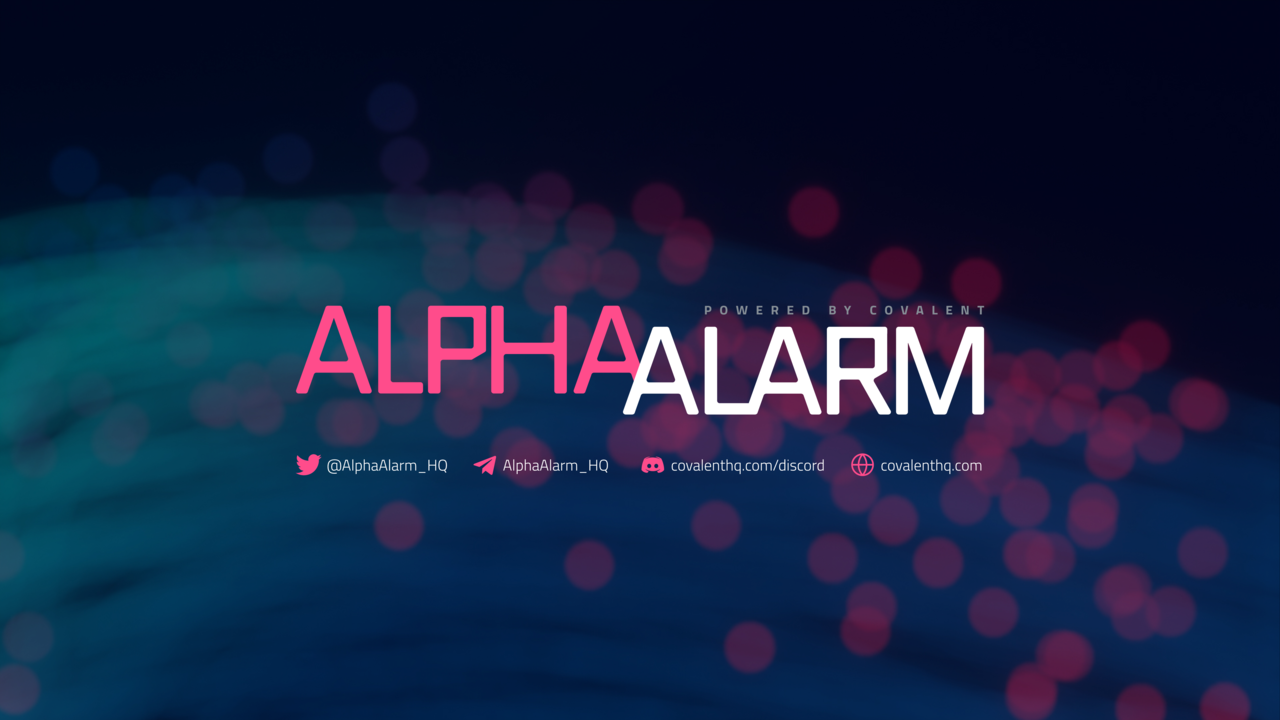 Alpha Alarm | Powered by Covalent