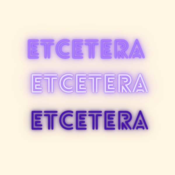 Etcetera by Nicola Thomas