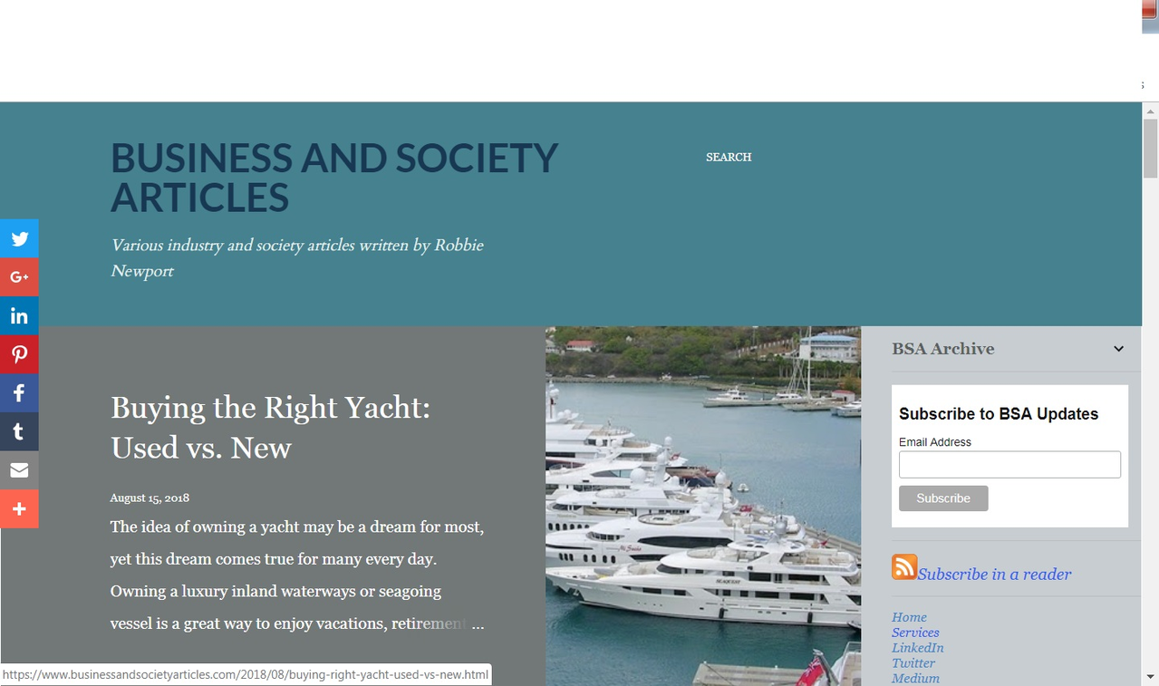 Business and Society Articles IV