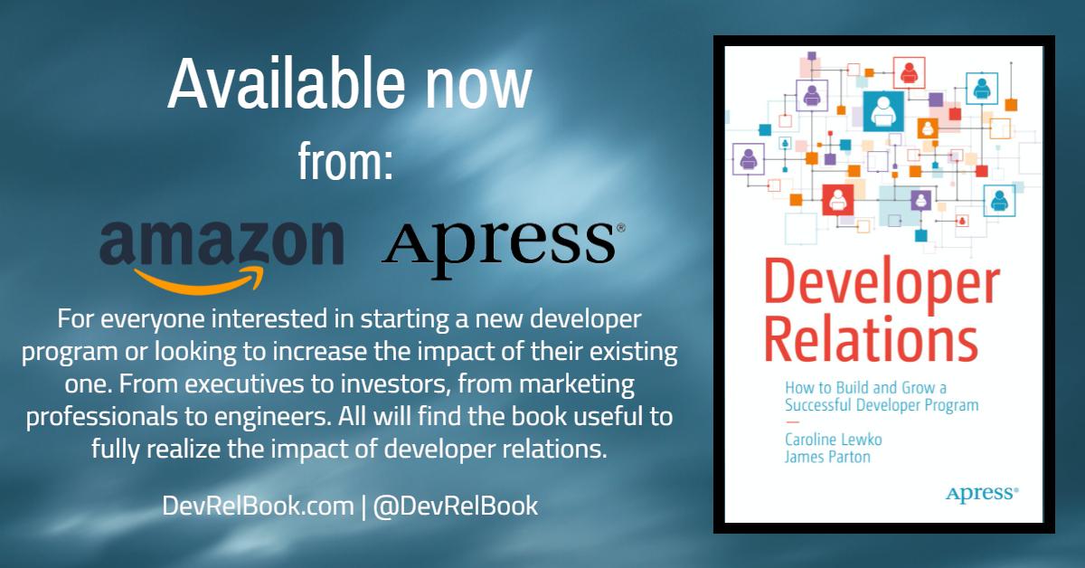 Developer Relations - The Book