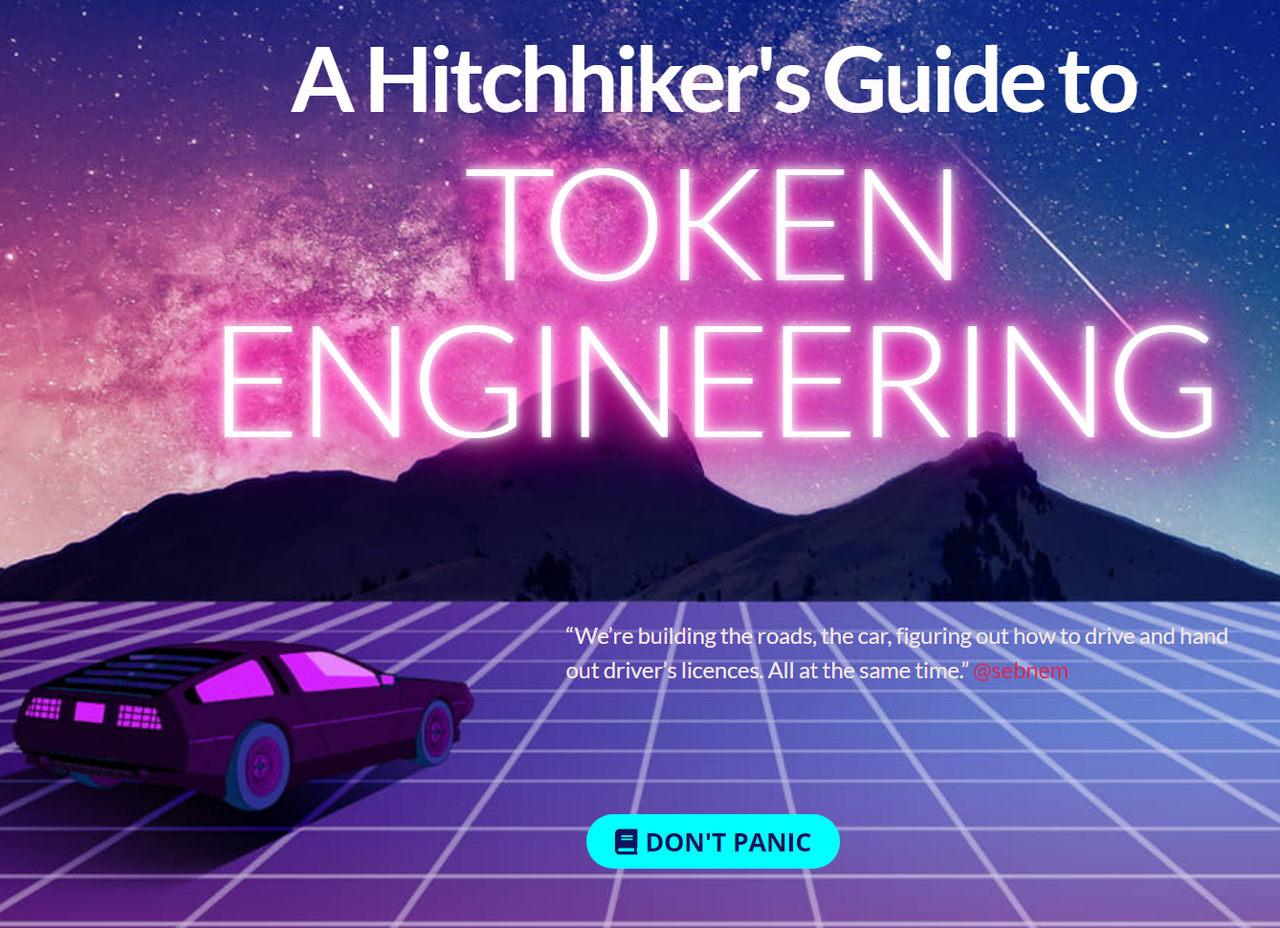 A Hitchhiker's Guide to Token Engineering