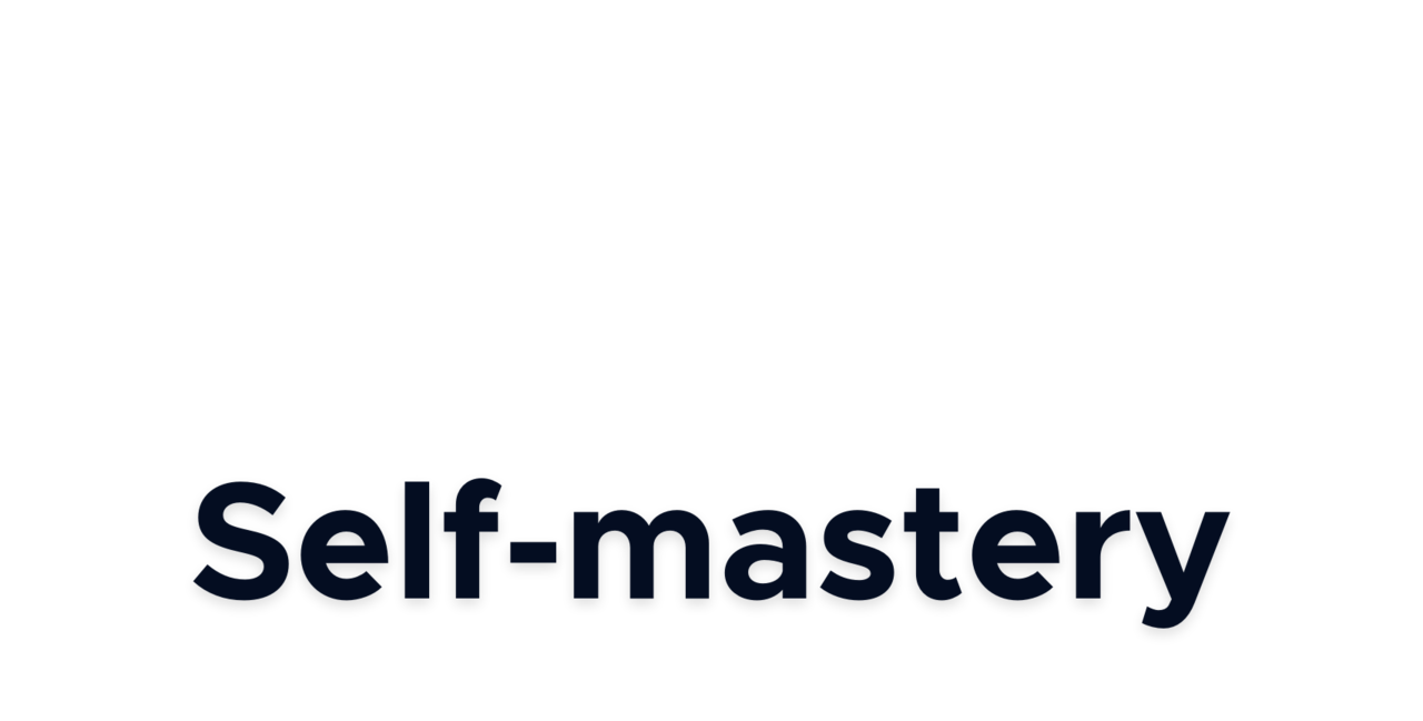Self-mastery by Joxen