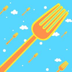 Flying Forks