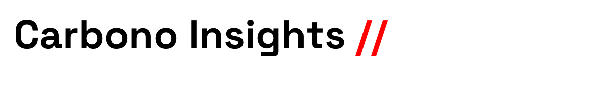 Carbono Insights