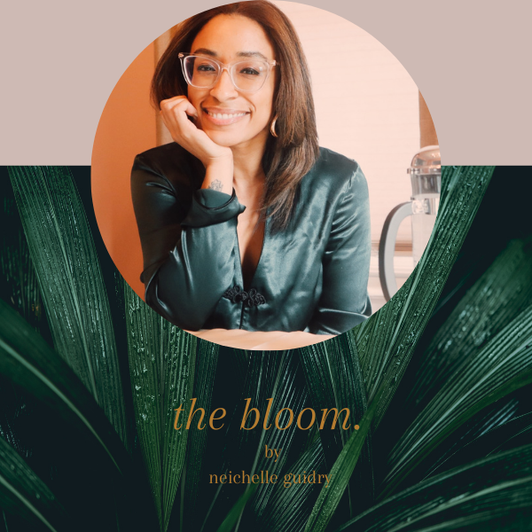 the bloom.