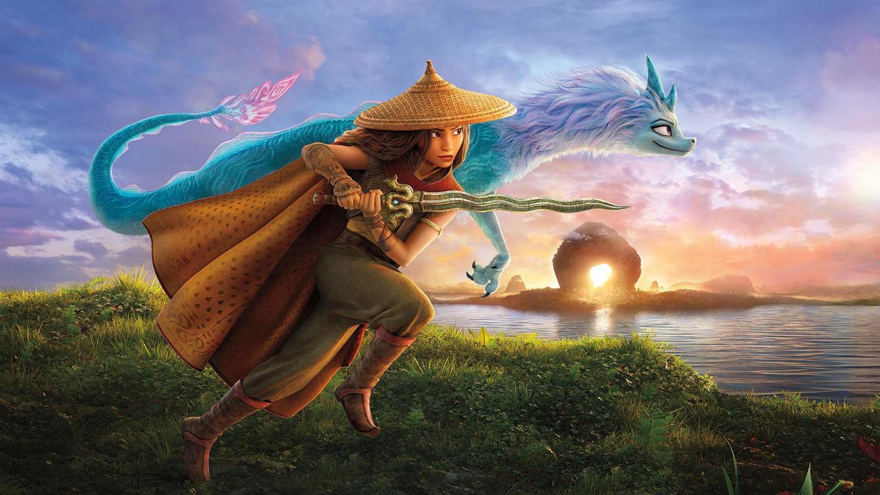 Raya and the Last Dragon is an Exciting Adventure Story Inspired by East  Asian Cultures with Beautifully Detailed Animation | by M S Rayed |  UpThrust.co | Medium