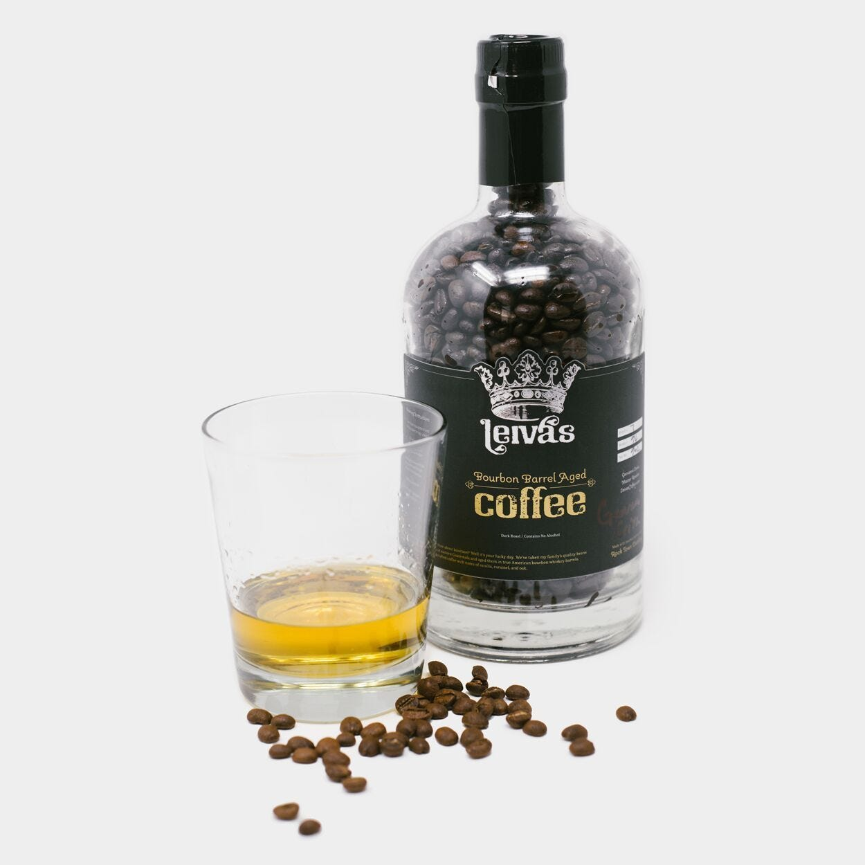 Bourbon Barrel Aged Coffee - Cool Material