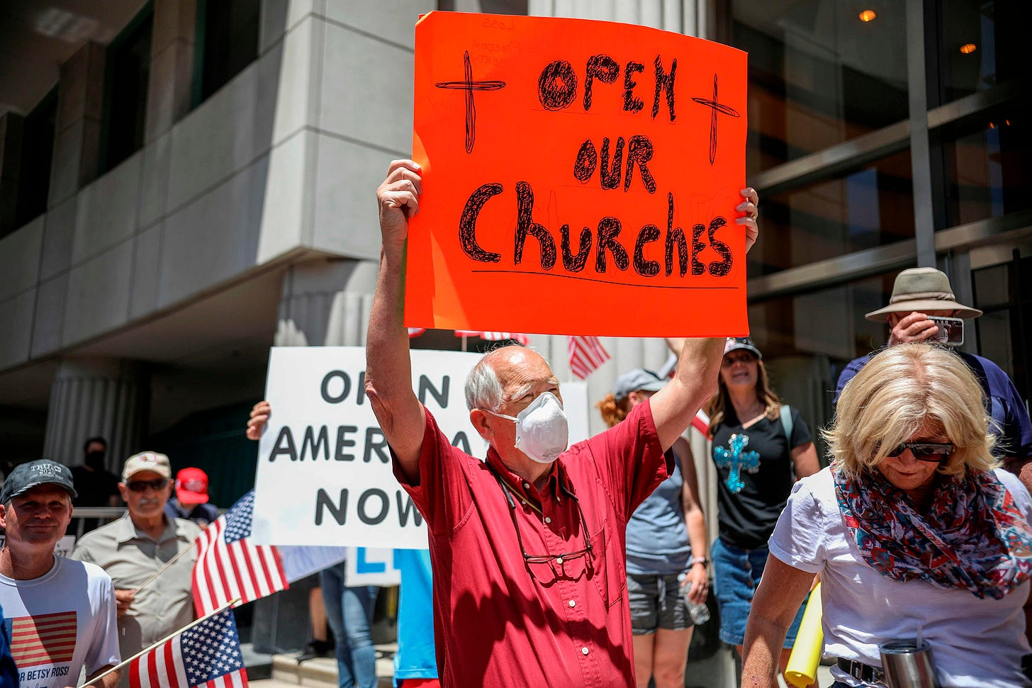 The right to worship: Church and state clash over religious services in the  coronavirus era