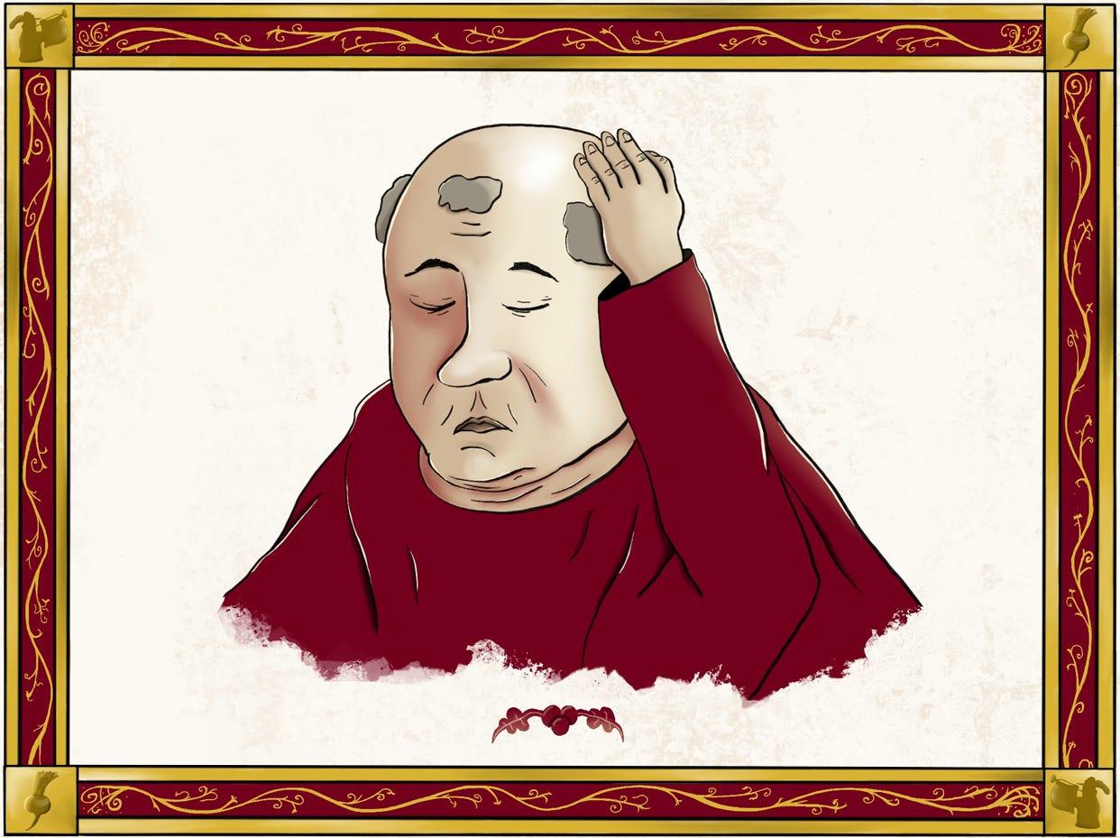 bald monk