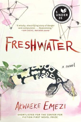 Book cover of Freshwater by Akwaeke Emezi