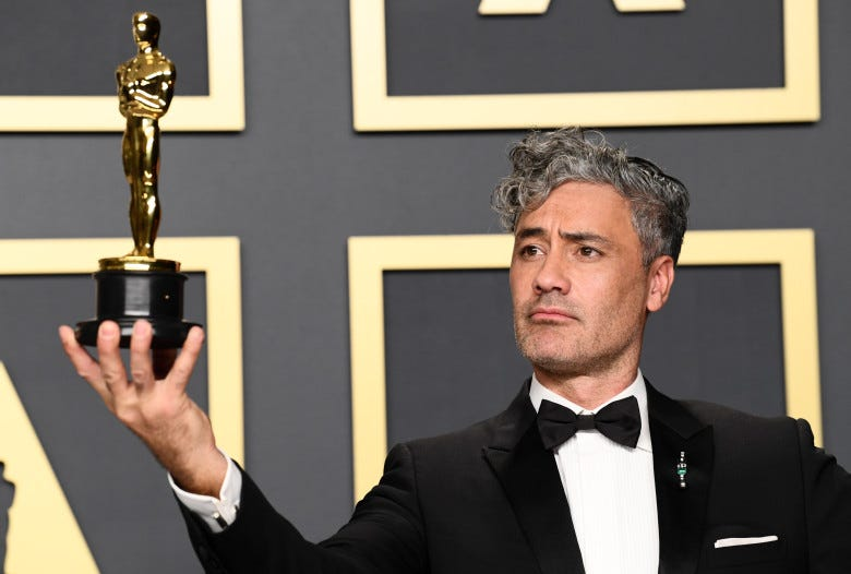 Taika Waititi - Adapted Screenplay - Jojo Rabbit92nd Annual Academy Awards, Press Room, Los Angeles, USA - 09 Feb 2020