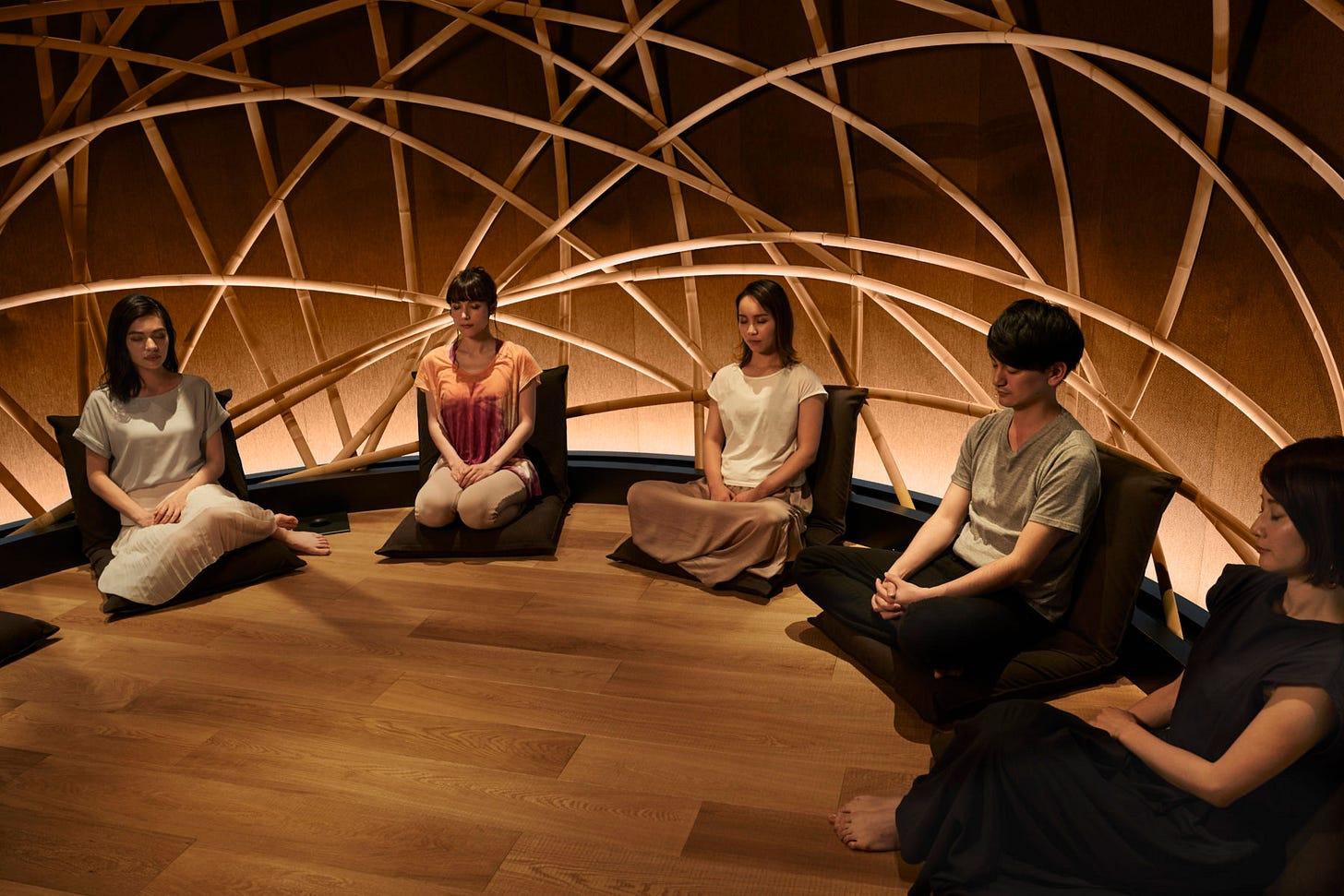 お茶・音・光・香りを融合させたメディテーションスタジオ「メディーチャ」 2019年6月、東京・青山にオープン | NewTitle