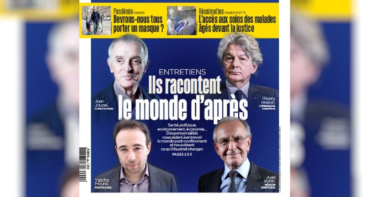 """""""Monde d'après"""" Une du Parisien"""