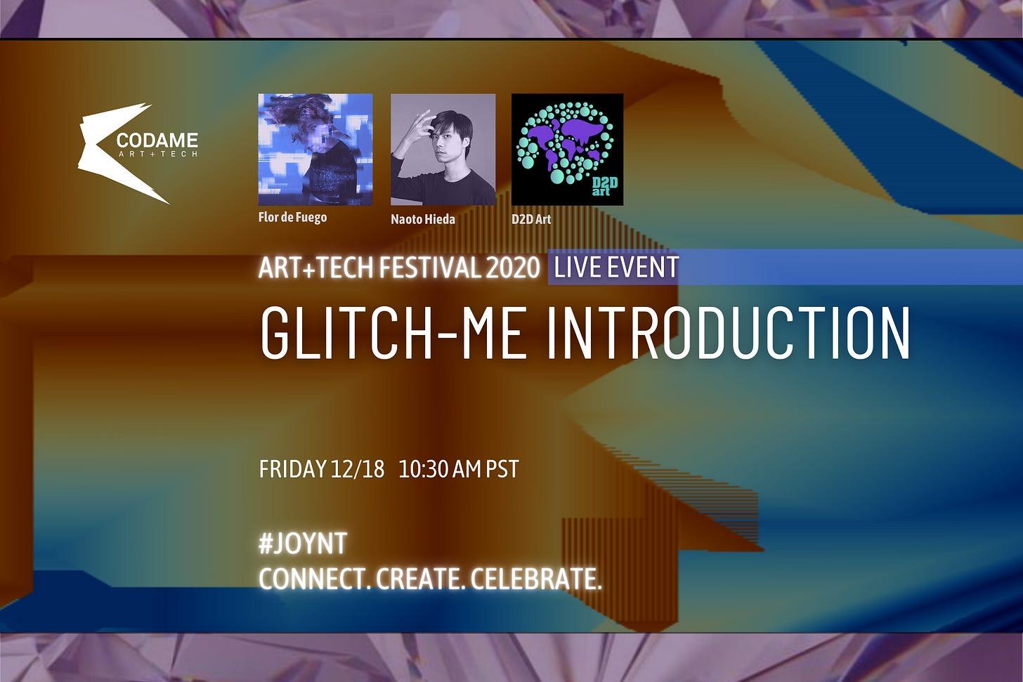 Glitch-me Introduction
