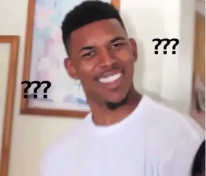 confused reaction   Confused Nick Young   Confused face, Black guy meme,  What meme