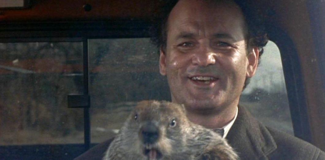 Bill Murray dans le film Un jour sans fin