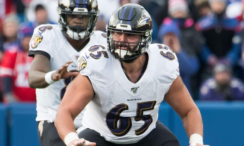 Baltimore Ravens injuries: Patrick Mekari questionable vs. Giants