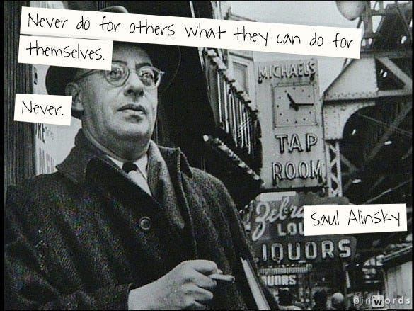 The Best Sites To Learn About Saul Alinsky | Larry Ferlazzo's Websites of  the Day...