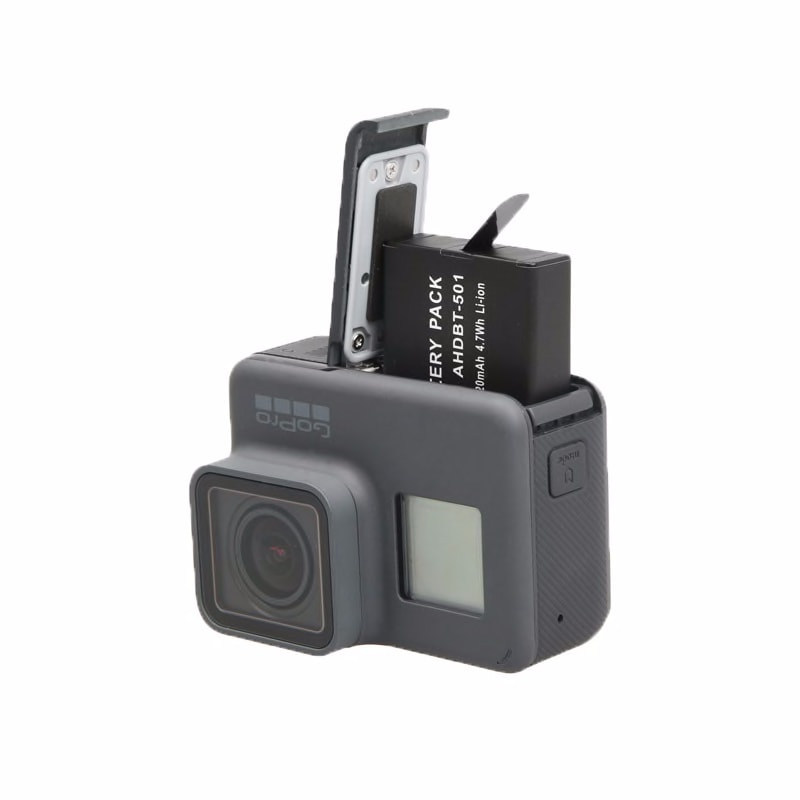 3Pcs Go Pro Hero5 battery For Gopro Hero 7 Battery + 3-Way Charger For GoPro Hero7 Hero 6 Hero 5 black action Camera Accessories