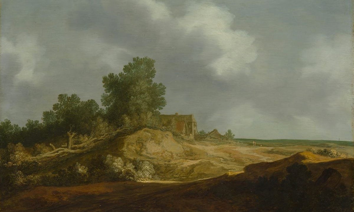 cottage on a hillock
