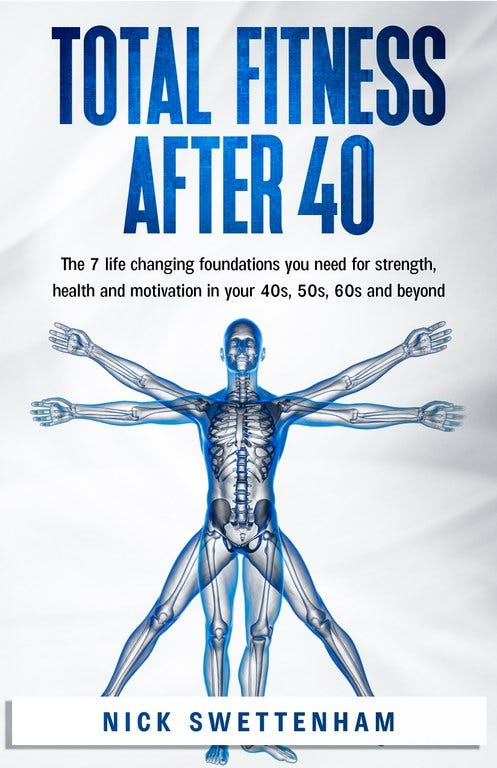 In Total Fitness After 40, you will discover: The research-based approach to fitness that has been identified as the most effective anti-aging exercise strategy. Strategies for overcoming negative self-talk -- and how reprogramming your mind will optimize your physical and emotional health.