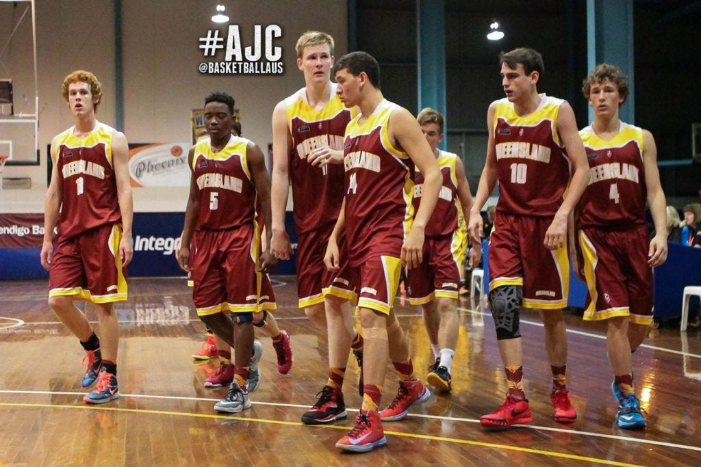 Harry Froling and QLD North   Photo Credit: Basketball Australia/Kangaroo Photos