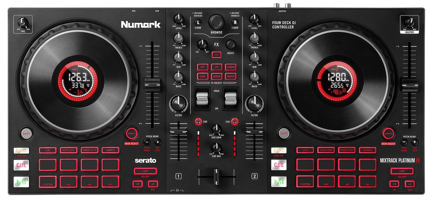 The Numark Mixtrack is back, in Pro FX and Platinum FX models • DJWORX