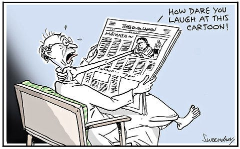 An Online Guide to India's Political Cartoons - The New York Times