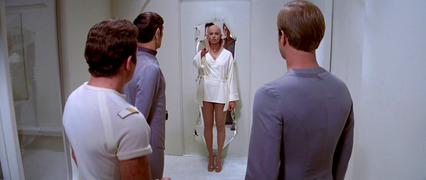 V'Ger and the Enterprise crew