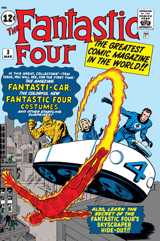 Fantastic Four (1961) #3   Comic Issues   Marvel