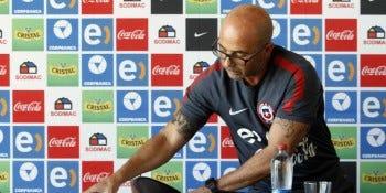 Jorge Sampaoli, ex entrenador de la Selección Chilena.