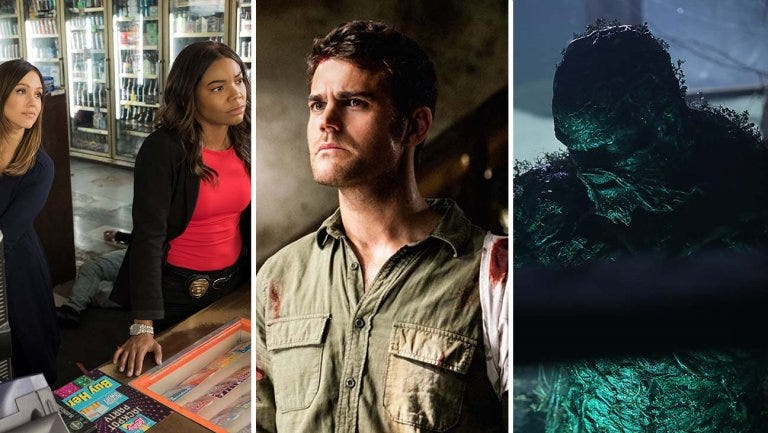 'L.A.'s Finest,' 'Tell Me a Story' and 'Swamp Thing' are cornerstones of Fox and The CW's fall schedules but all three shows aired on other platforms more than a year ago.