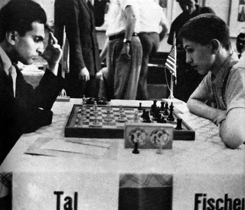 Bobby Fischer contro Mikhail Tal al Torneo Internazionale di Zurigo, il 2  giugno del 1959. | Xadrez chess, Partida, Xadrez