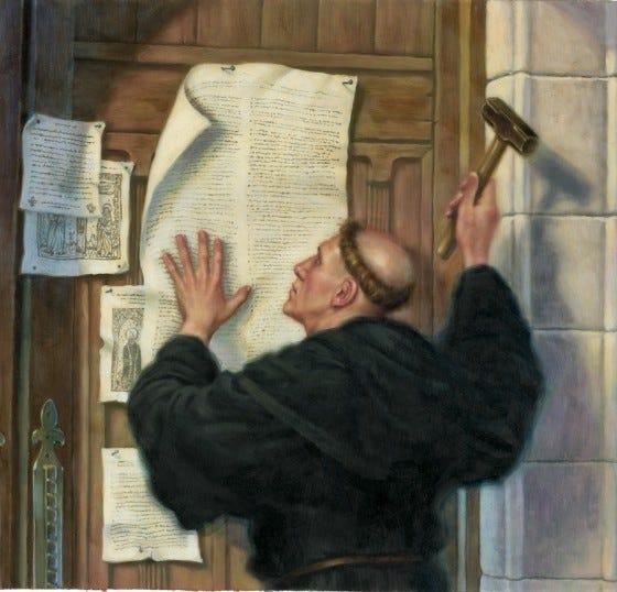 Hagiography: Reformation Day: 31 October 2011
