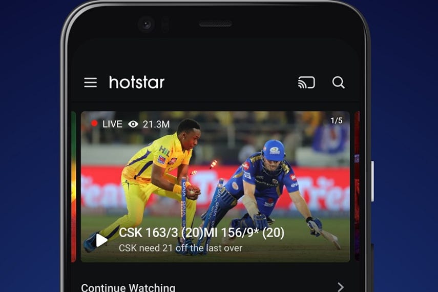 Hotstar to launch in Singapore on 1 November | Media | Campaign Asia