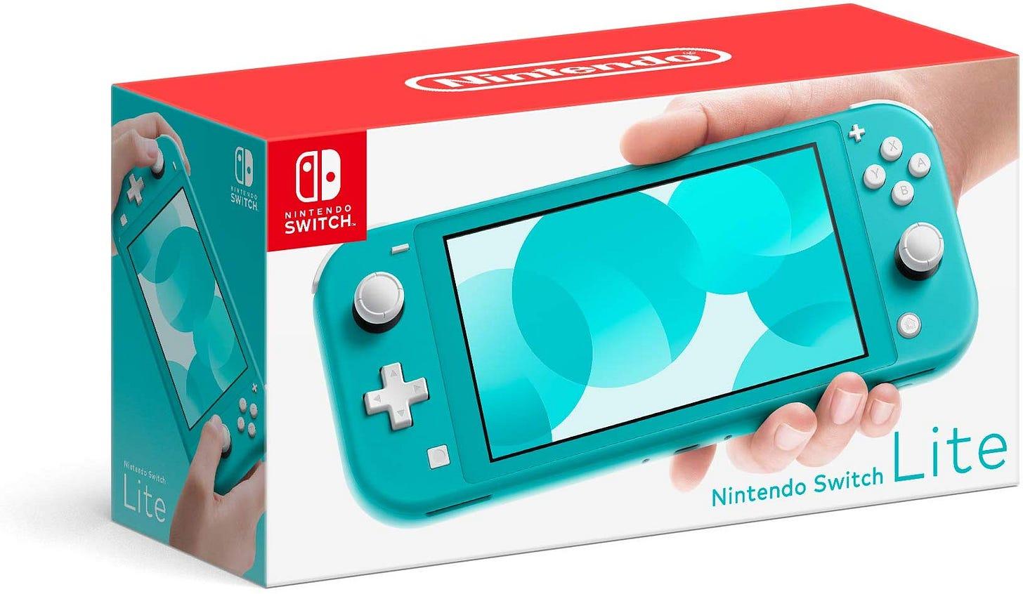 Nintendo Switch Lite Pre-Orders Open