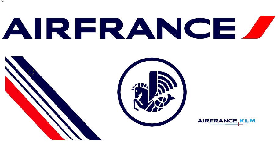 Air France logo | 3D Warehouse
