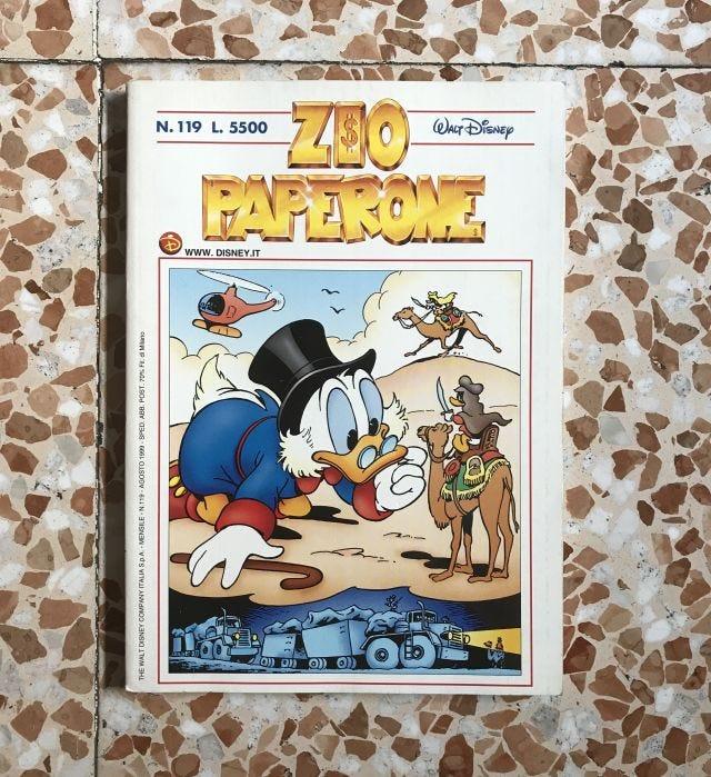 Testata Zio Paperone (1999)