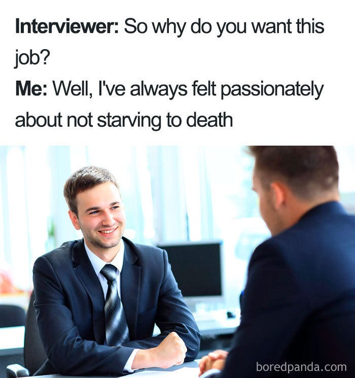 30 Of The Funniest Job Interview Memes Ever
