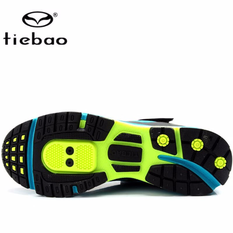 Tiebao Outdoor Cycling Shoes Men sapatilha ciclismo MTB Leisure Mountain Bike Breathable Bicycle Shoes Durable Athletic Shoes