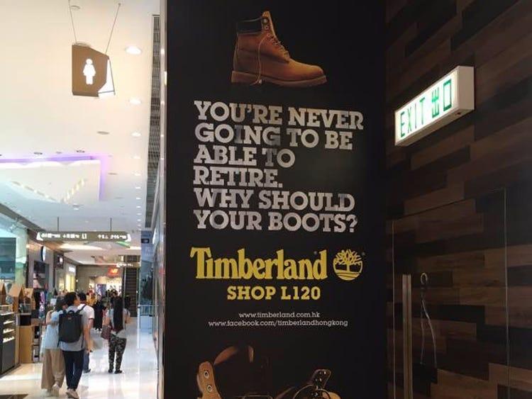 Timberland Ad Depresses Millennials